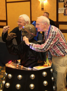 Davros With the original Davroses
