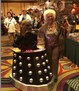 Davros with Uhura