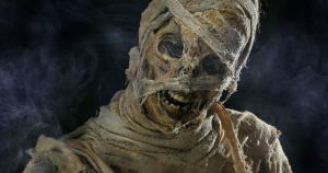 Mummy on the Orient Express Work by Neill Gorton and MilleniumFX