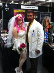 Abby and Keith as Ivana and Krieger From Archer