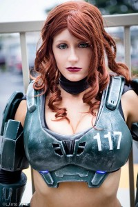 Abby as Jane 117 Master Chief
