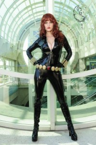 Abby as Black Widow