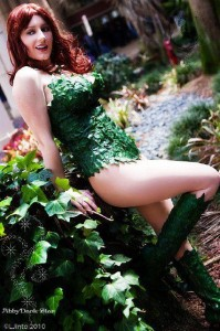 Abby as Poison Ivy